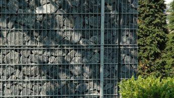 Foto eines hermetec-Sichtschutzzauns