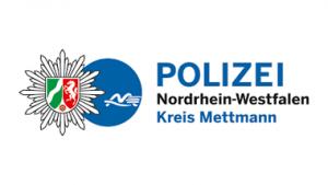 Logo der Polizei im Kreis Mettmann